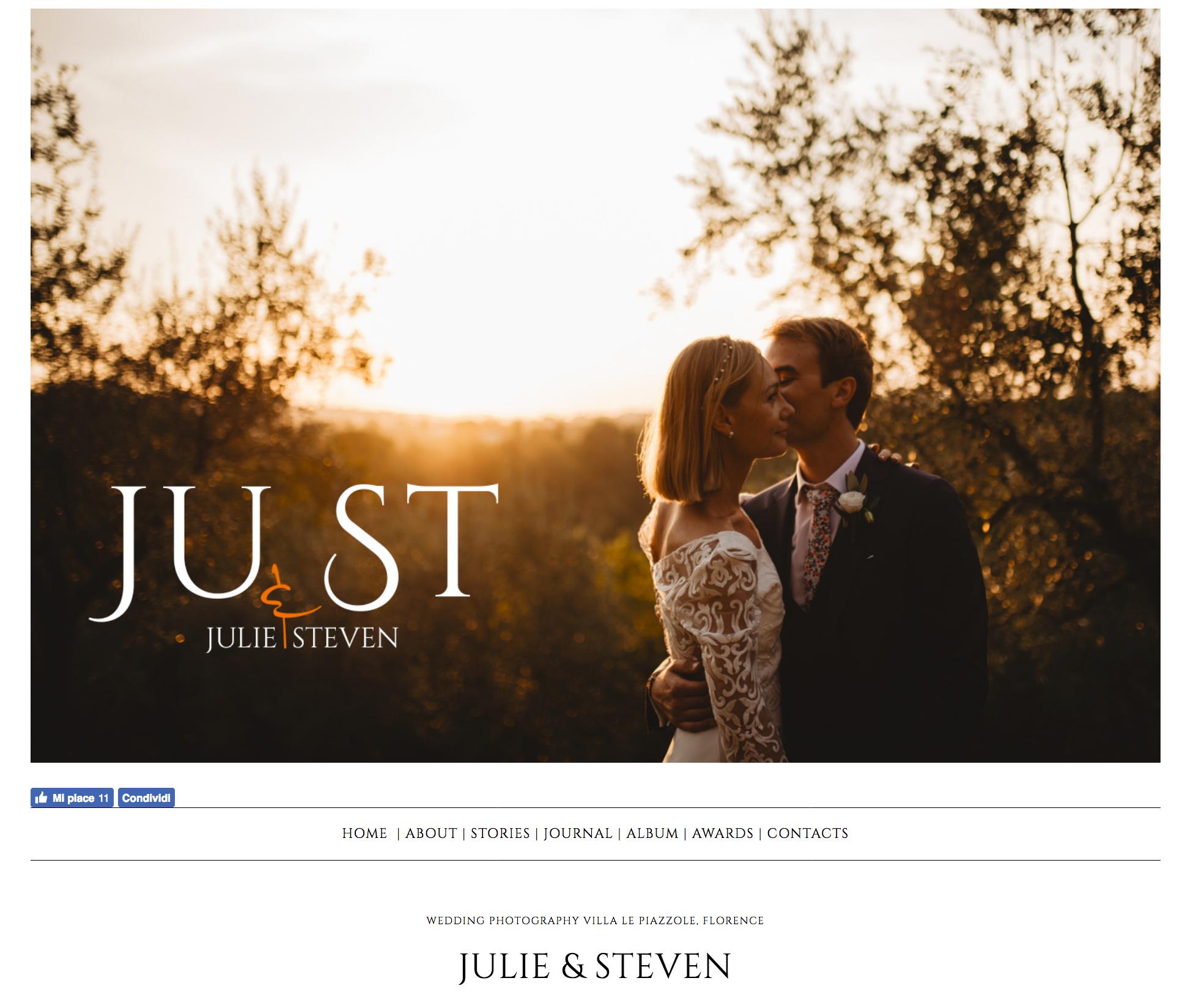 Julie e Steven – wedding con marcovegni.com